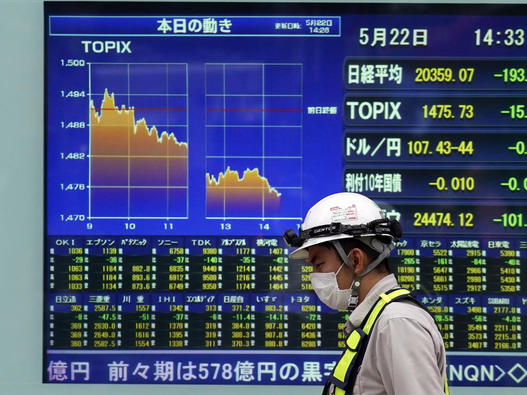 Japan is now turning attention towards saving its economy, the third largest in the world. Picture: AP Photo / Eugene Hoshiko