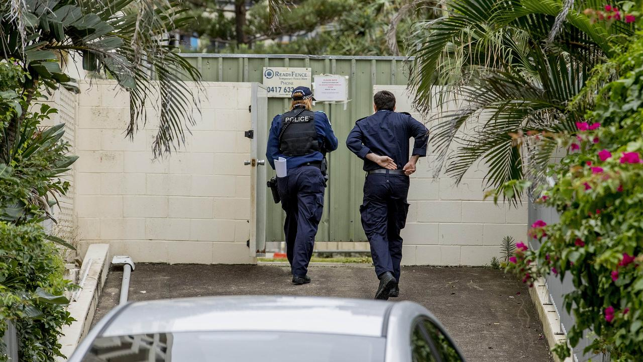 Police investigating the death of a teenager at the Pacific View. Picture: Jerad Williams