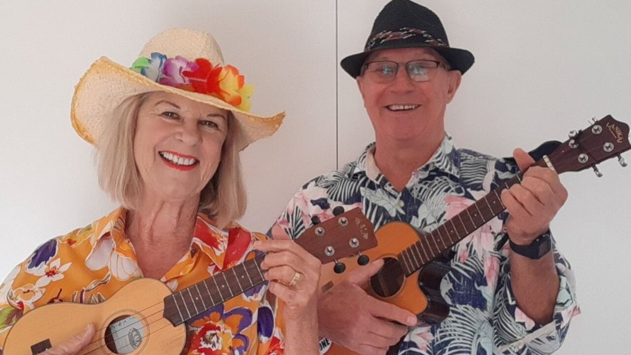 Noosa's Lin and Terry Nolan – lost their heart toe the ukulele and are now spreading the love of this layman's lute to the world.