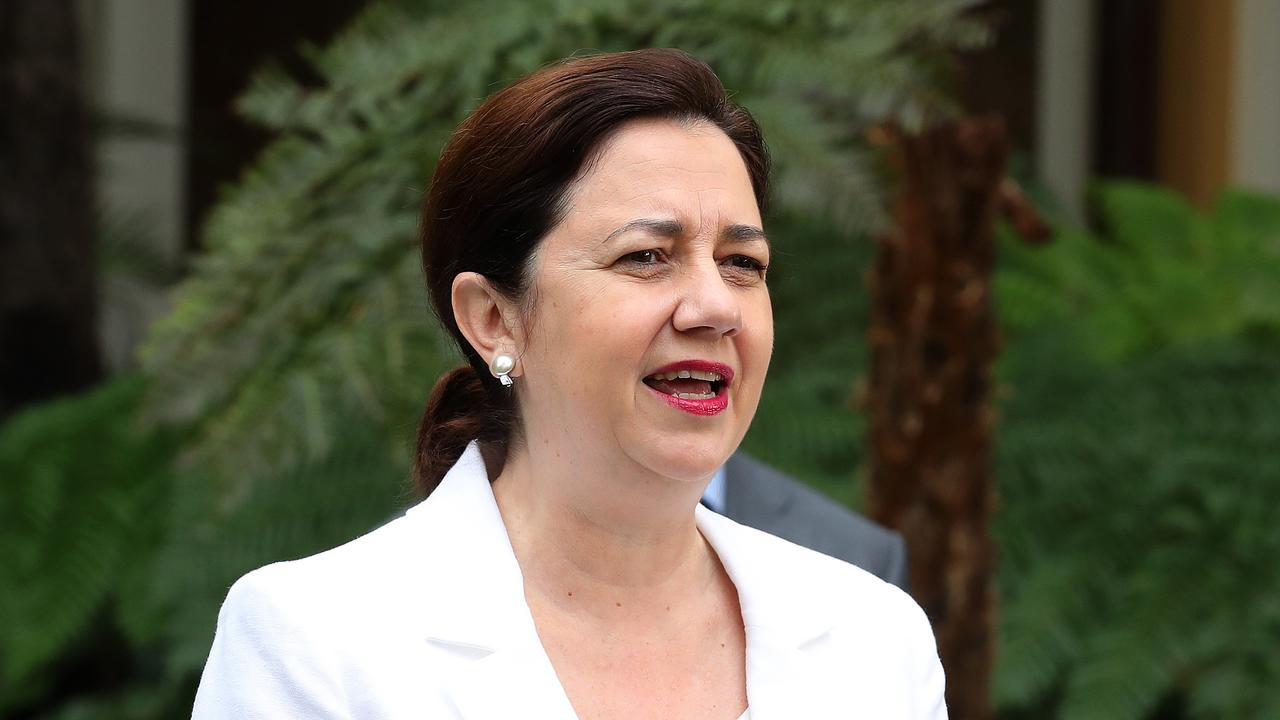 Premier Annastacia Palaszczuk has announced Queensland has recorded two new cases of coronavirus, with one of the cases still active.
