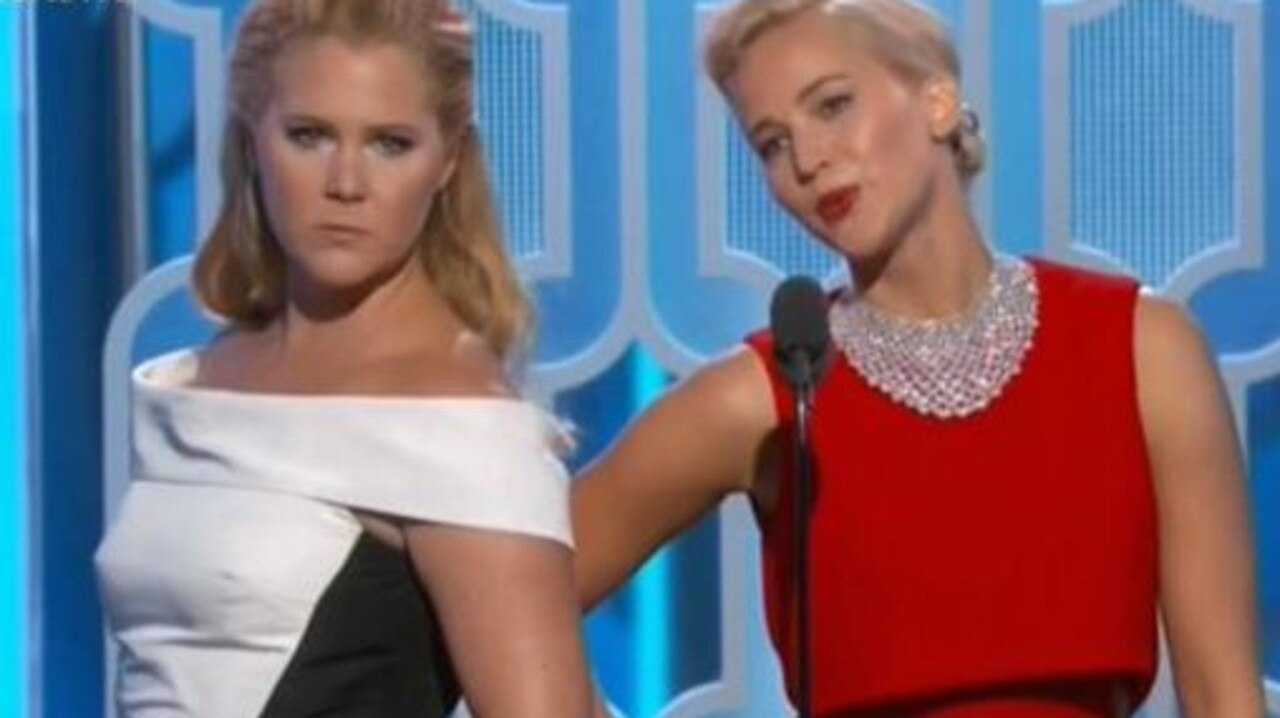 Amy Schumer and Jennifer Lawrence have been swapping chicken recipes. Picture: supplied