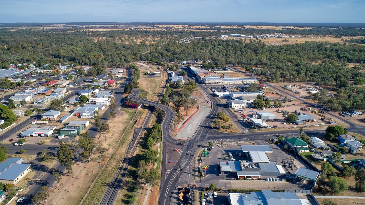 UPGRADE: Facilites and roads on the Western Downs will be upgrade under a new program. Photo: Brett Smith from Dronesmith.