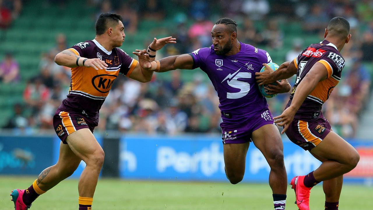 Melbourne Storm powerhouse Justin Olam. Picture: Getty Images
