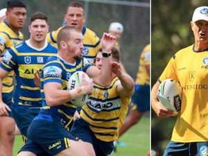 Eels get fast and furious at training
