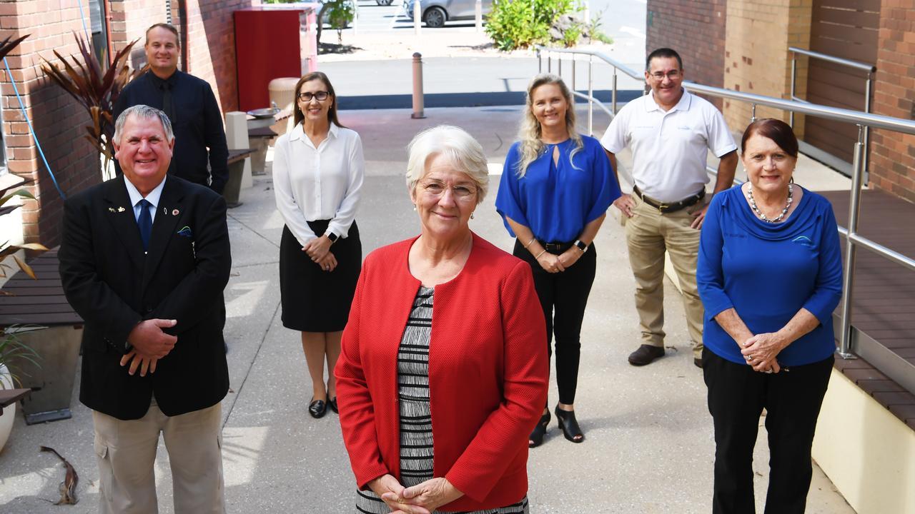 Rockhampton Regional Council, Mayor Margaret Strelow, Cr Neil Fisher, Cr Ellen Smith, Cr Shane Latcham, Cr Donna Kirkland, Cr Cherie Rutherfird and Cr Drew Wickerson.