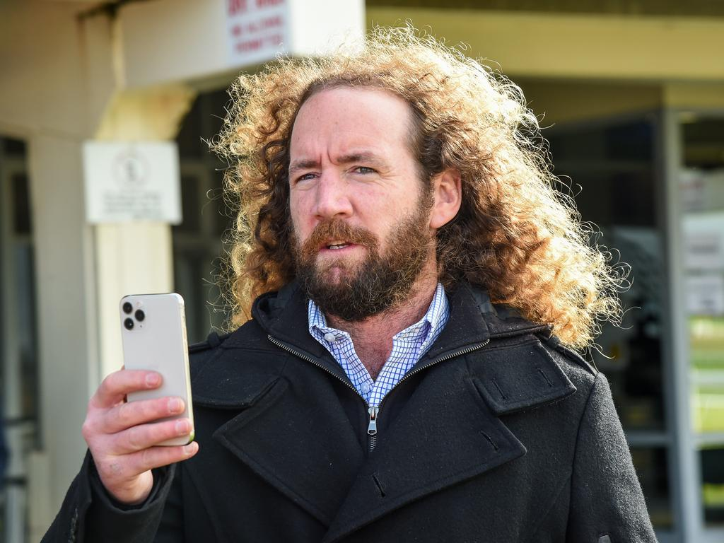 Trainer Ciaron Maher. Picture: AAP Image/Supplied by Brett Holburt, Racing Photos
