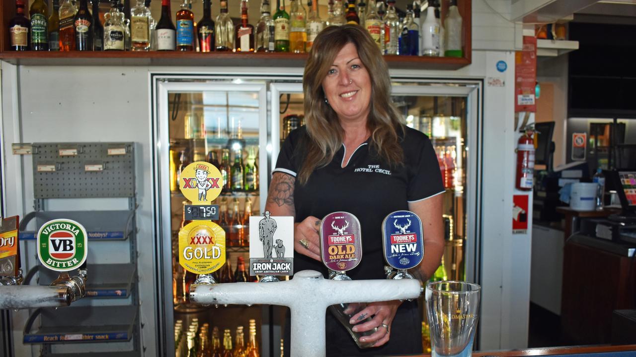 Hotel Cecil bar staff Nikki Fletcher in Casino. PIC: SUSANNA FREYMARK