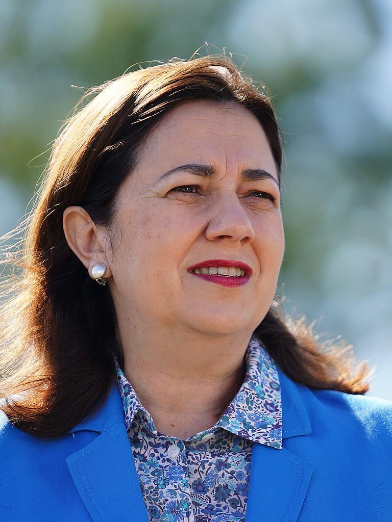 Queensland Premier Annastacia Palaszczuk stands firm on the closure of Queenslands borders. Picture: Dave Hunt/AAP