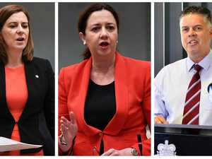 Leaders hit out as Premier avoids NQ bubble debate