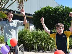 Students happy to reunite as schools go back across region