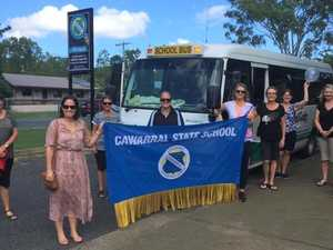 Teachers hit the road for  driveway tour