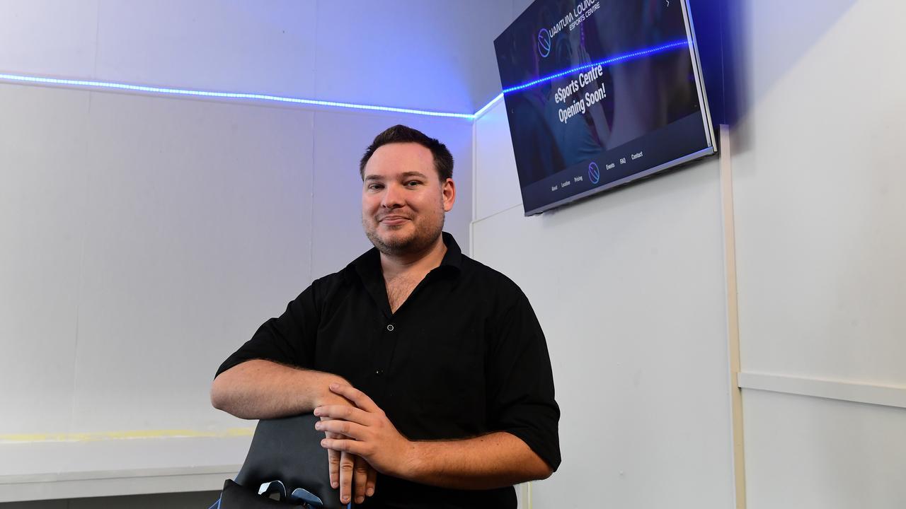 EGAMES: Daniel Hicks at the Quantum Lounge in North Bundaberg.