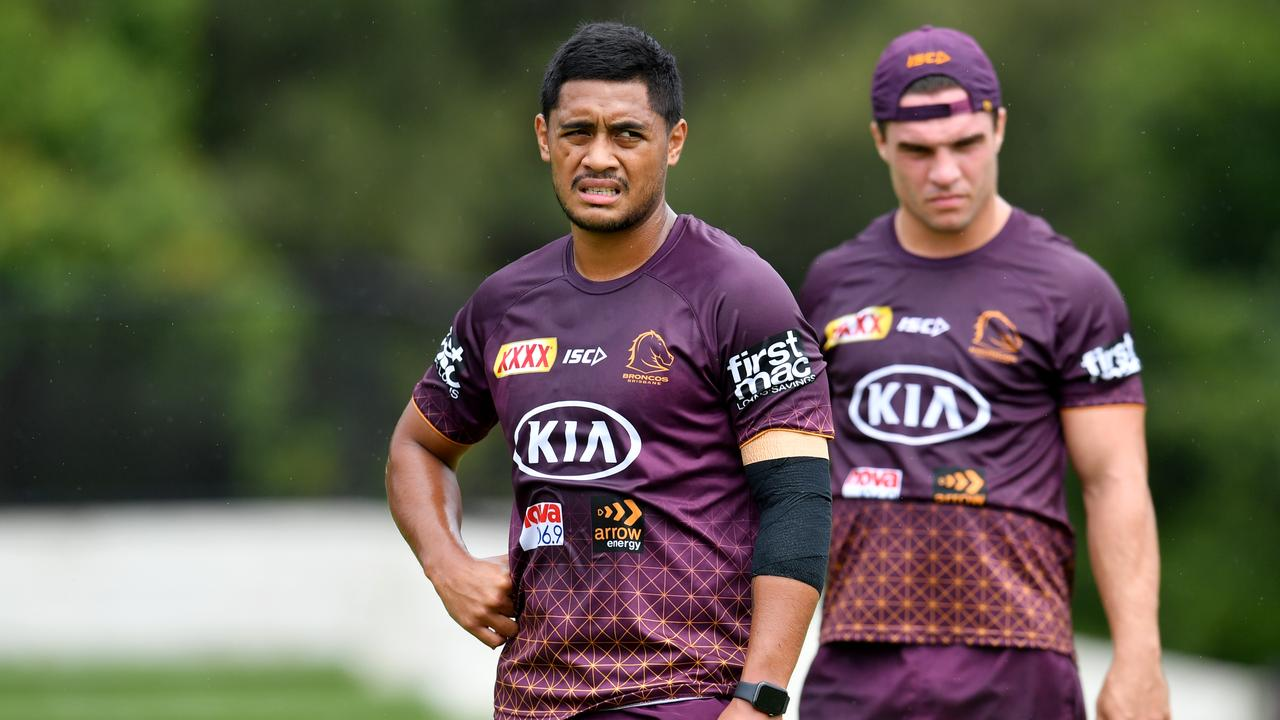 The new halves combination of Anthony Milford and Brodie Croft looked promising in the opening two rounds of the 2020 season. Picture: AAP Image/Darren England.