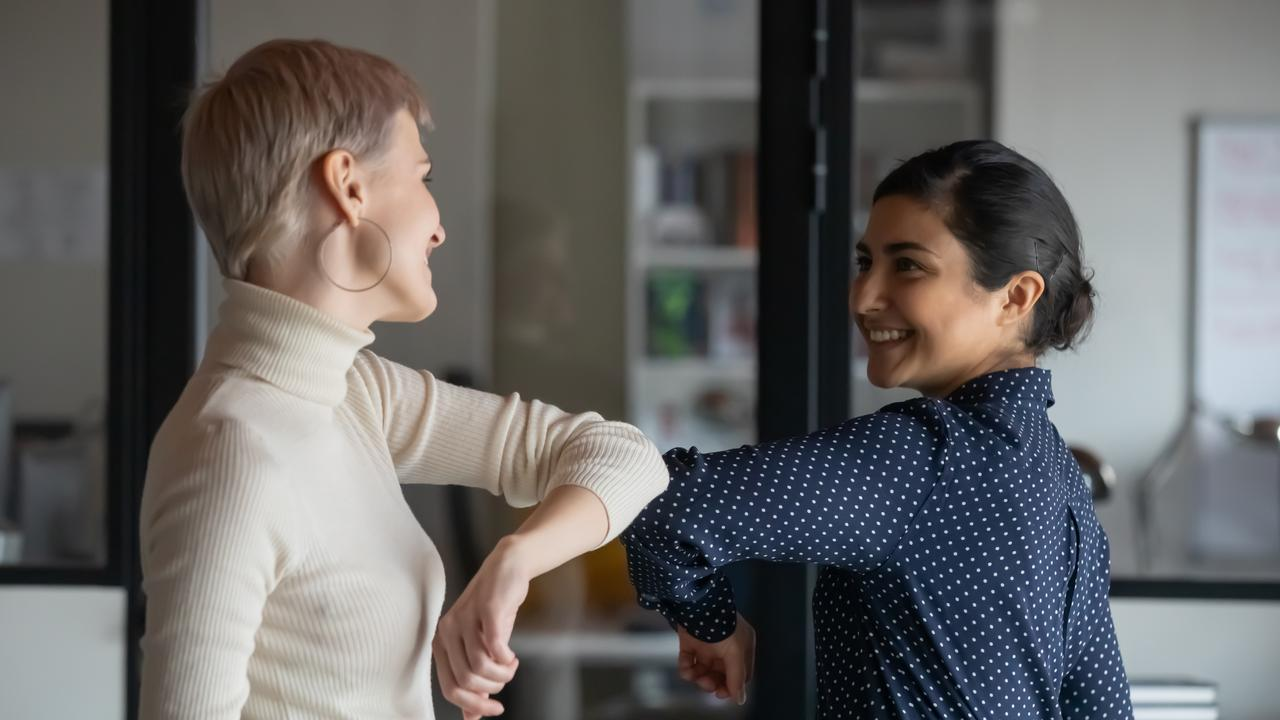 For some, elbow bumps just won't help minimise the fear of COVID-19. Picture: iStock