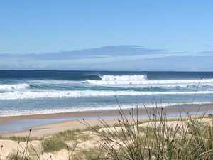 Huge swell pummels Northern NSW coast