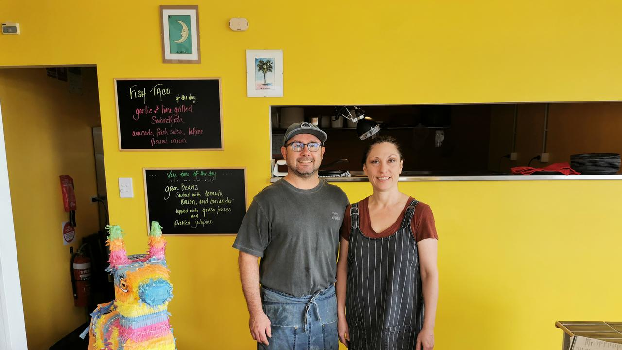 Owner's of Bob's Tacos at Ballina, Rob Theaker and Sheri Smith, are bringing an authentic take to the popular cuisine. (Credit: Adam Daunt)