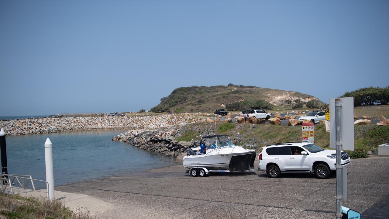 Coffs Harbour Boat Ramp.
