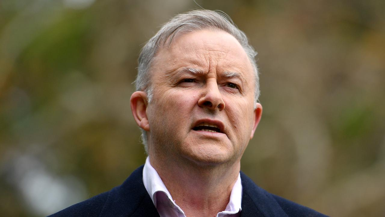 Opposition Leader Anthony Albanese. Labor seems to have forgotten their contribution to the nation's debt levels. Picture: AAP Image/Dan Himbrechts
