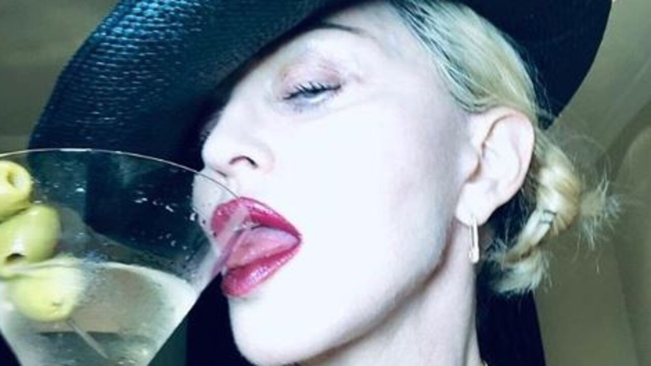 Madonna posts risque photo. Picture: Instagram