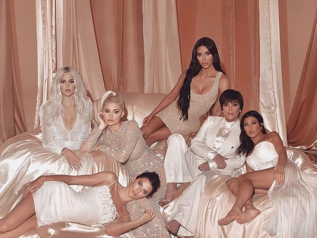 Keeping Up With The Kardashians photoshop fails for Season 16 promotional photos. Picture: Kim Kardashian/Instagram
