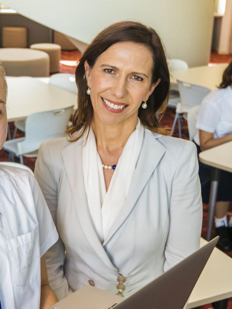 Brisbane Girls Grammar principal Jacinda Euler.