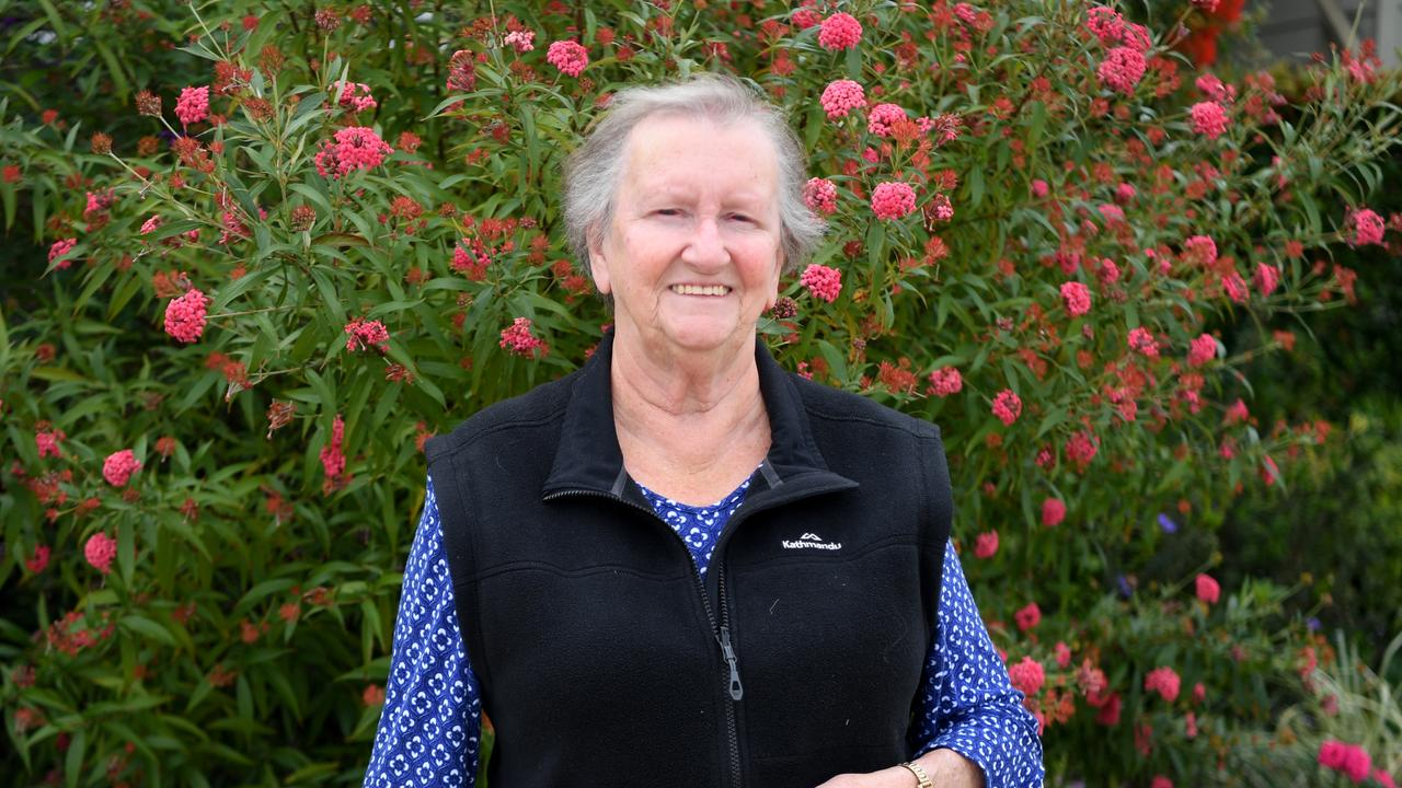 Narelle Unwin puts her sewing skills to good use as an RRC volunteer
