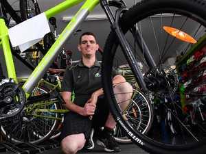 Covid cycling craze hits Bundy