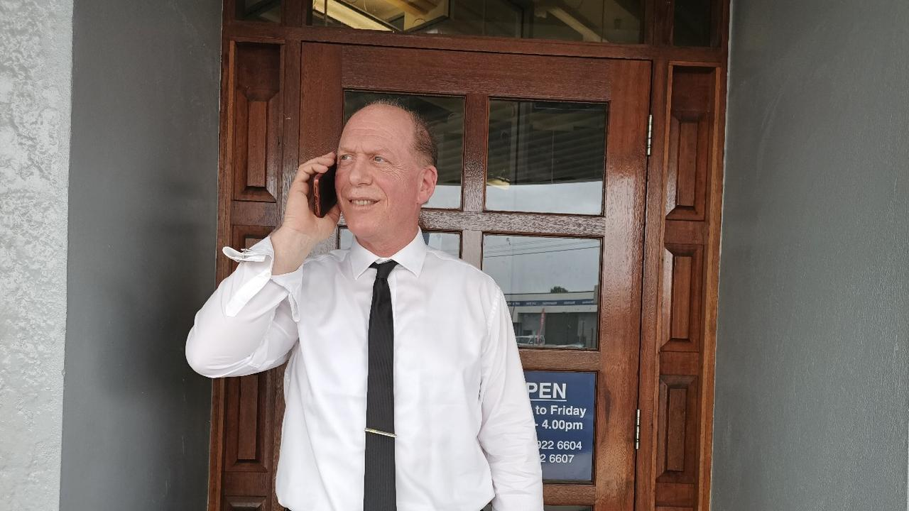 NEW ROLE: After years interviewing politicians, veteran radio announcer Laurie Atlas is loving his new role working behind the scenes as an electoral officer in Capricornia MP Michelle Landry's office.