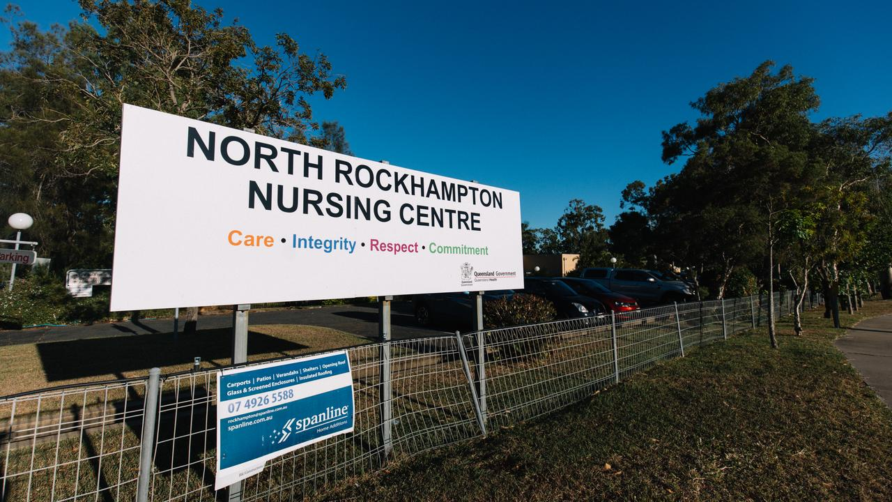 WAITING: North Rockhampton Nursing Centre is in lockdown after a nurse there tested positive for COVID-19. Photo: Levi Appleton