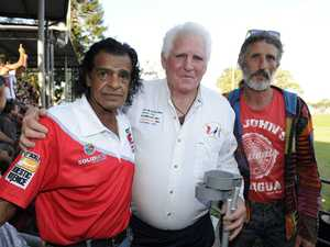 Ron Phillips, Ray Ide and Johnny Cooper are at the