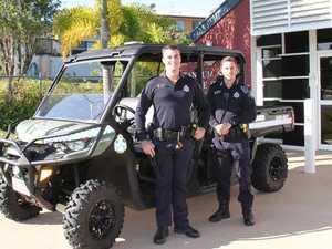 Beach hoons beware, Tannum cops have new weapon