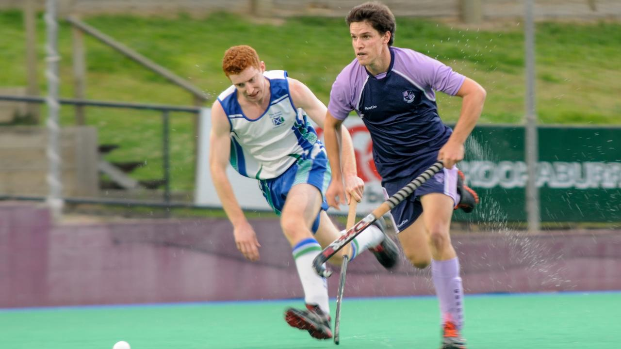 HOMEGROWN: Ipswich's Jacob Burns ascended to Brisbane Hockey's Best and Fairest Award in 2013. Picture: Husted Images