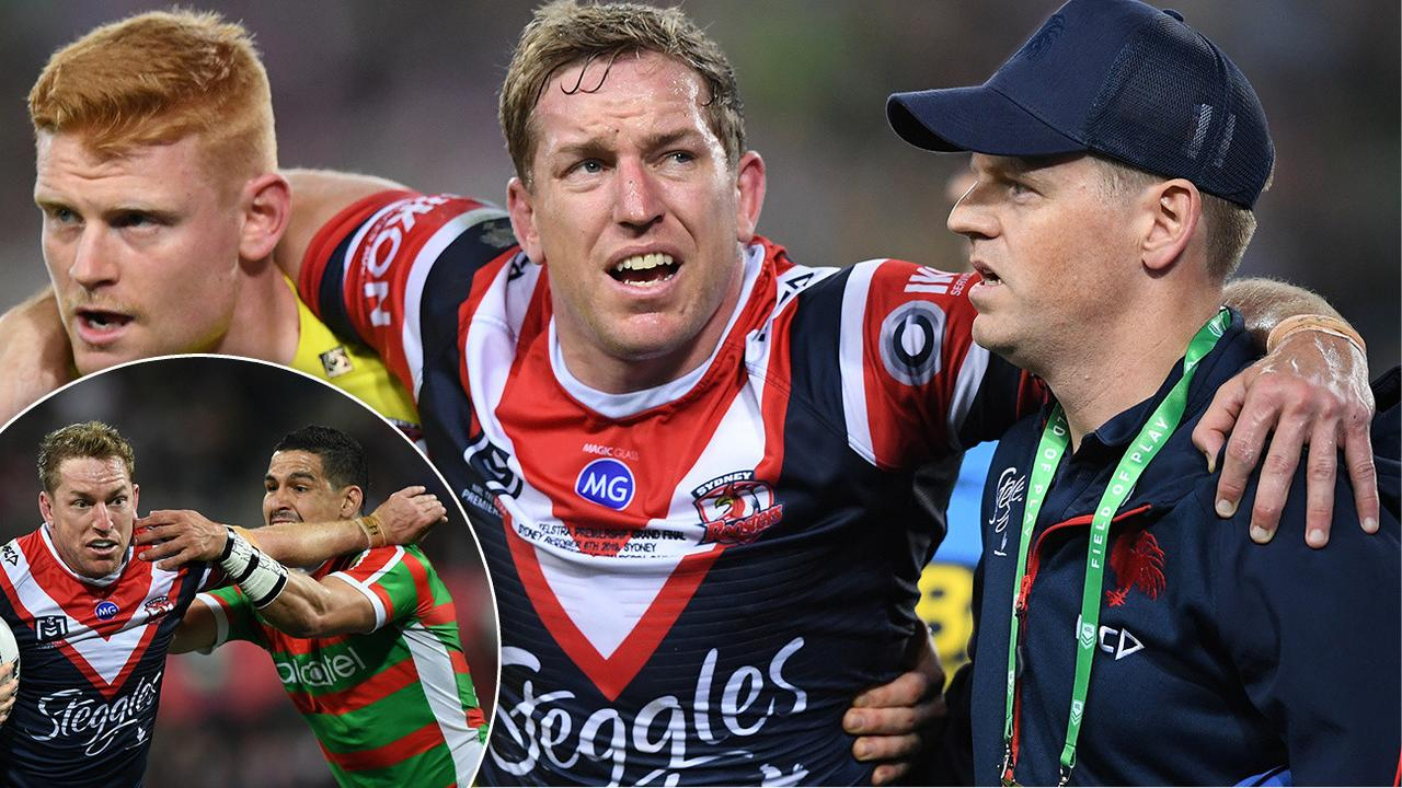 The Sydney Roosters' Mitchell Aubusson will miss the round three match against South Sydney.