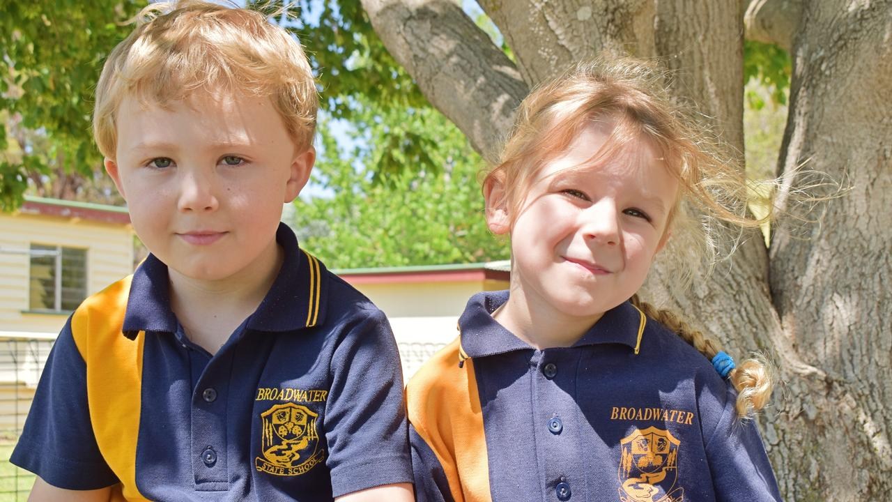Eli and Amity at Broadwater State School. (Note: Photo taken prior to social distancing laws.)