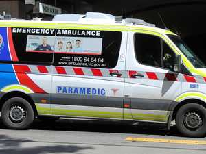 Elderly man pulls gun on paramedics