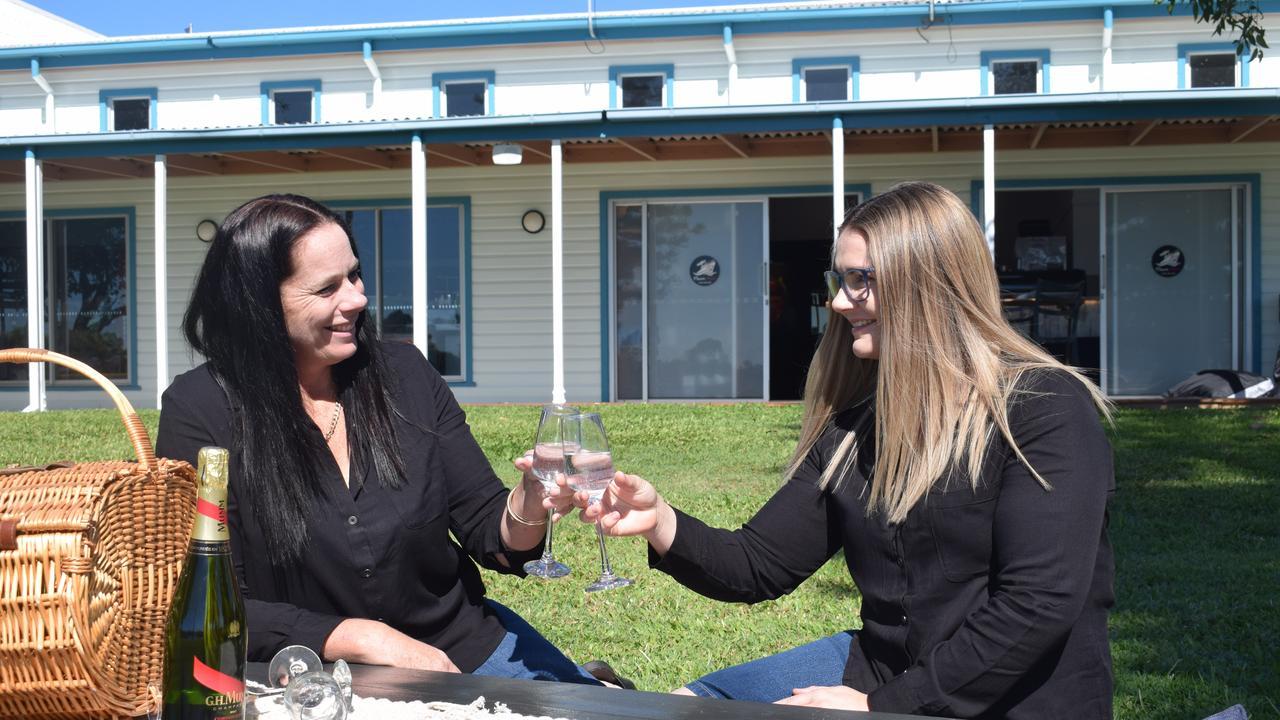 Savour the Flavour Owner Janelle Noonan and Business Manager Kara Delaney.