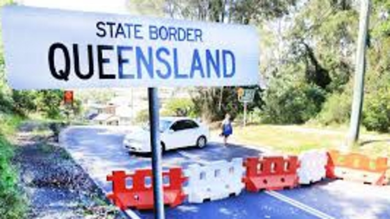 Queensland's borders will remain closed until the interstate threat of community transmission is eased.
