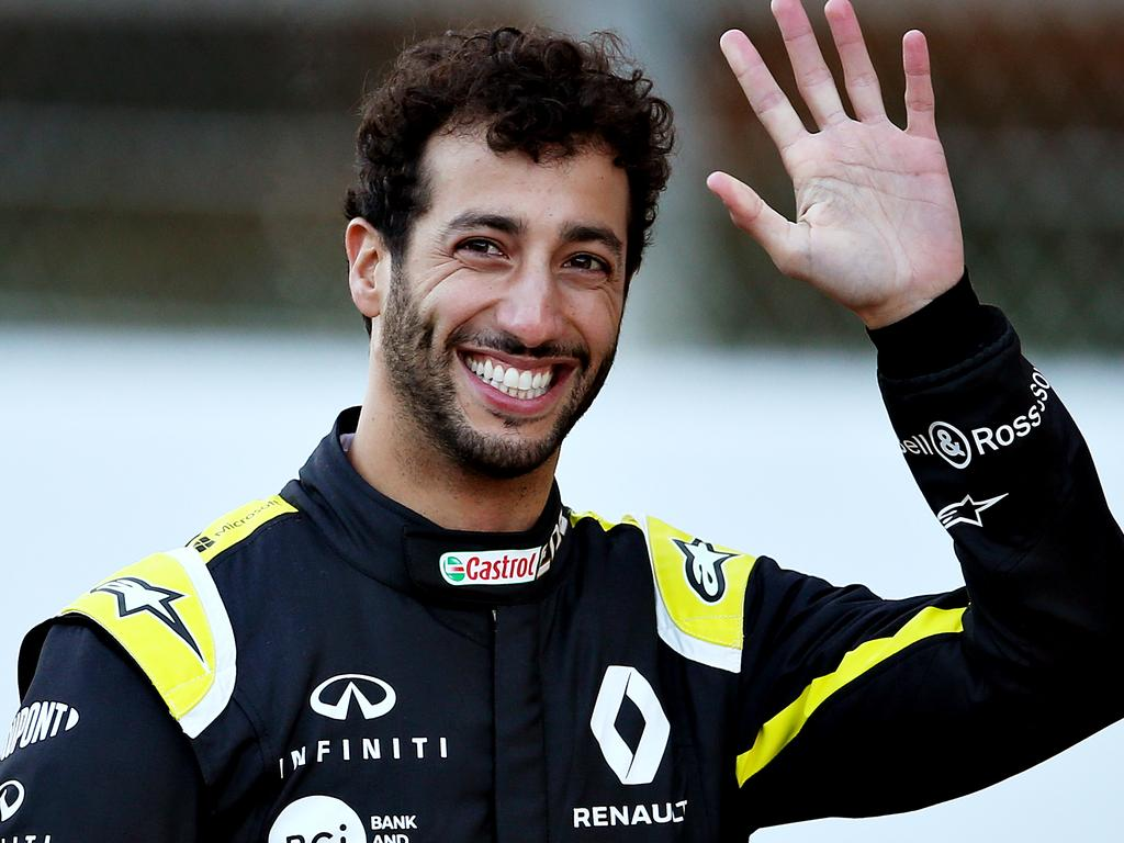 Daniel Ricciardo is out the door.