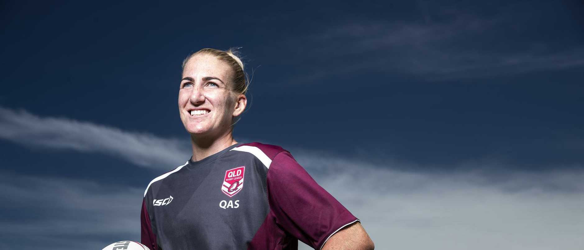 She's one of the most influential women in league, and Ali Brigginshaw is proud to live in Ipswich.