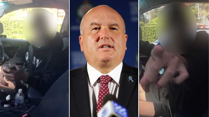 Video: Police Minister David Elliott's heated exchange with P-plater