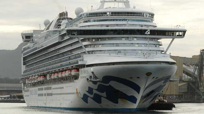 When Queensland cruise ship virus case fell ill