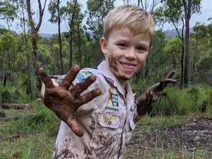 Little warrior's crafty new way to help wildlife