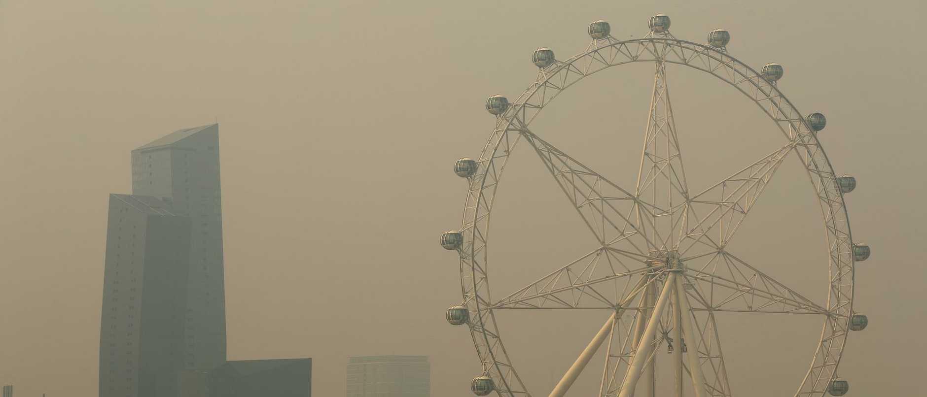 Bushfire Smoke Haze Blankets Melbourne