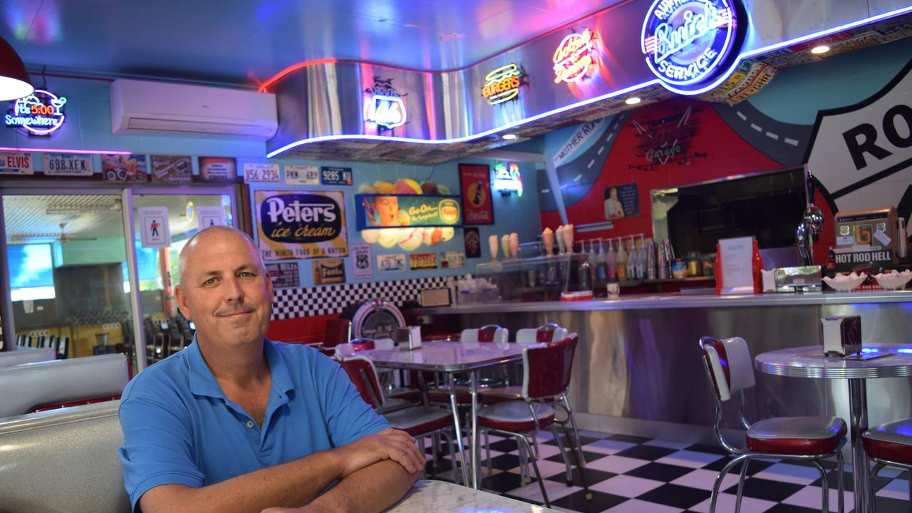 Owner of Conway Tourist Park and George's Diner Peter Miller was pushing for state borders to be reopened in time for school holidays.