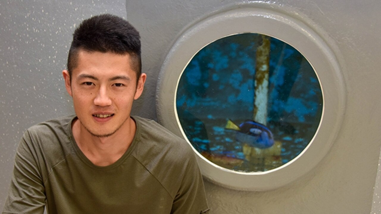 YOUR CHANCE: Tomoki Mishina is an international student from Japan currently studying the Bachelor of Marine Science and Management at Southern Cross University. Photo: Kylie Cork