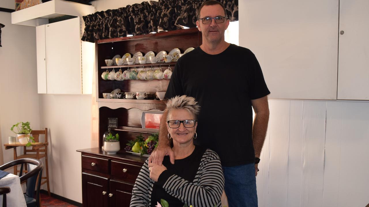 RENOVATED AND READY: Commercial Hotel Motel publicans Abbie Grayson and Coll Ahern are ready to serve their customers once again. Picture: Erica Murree