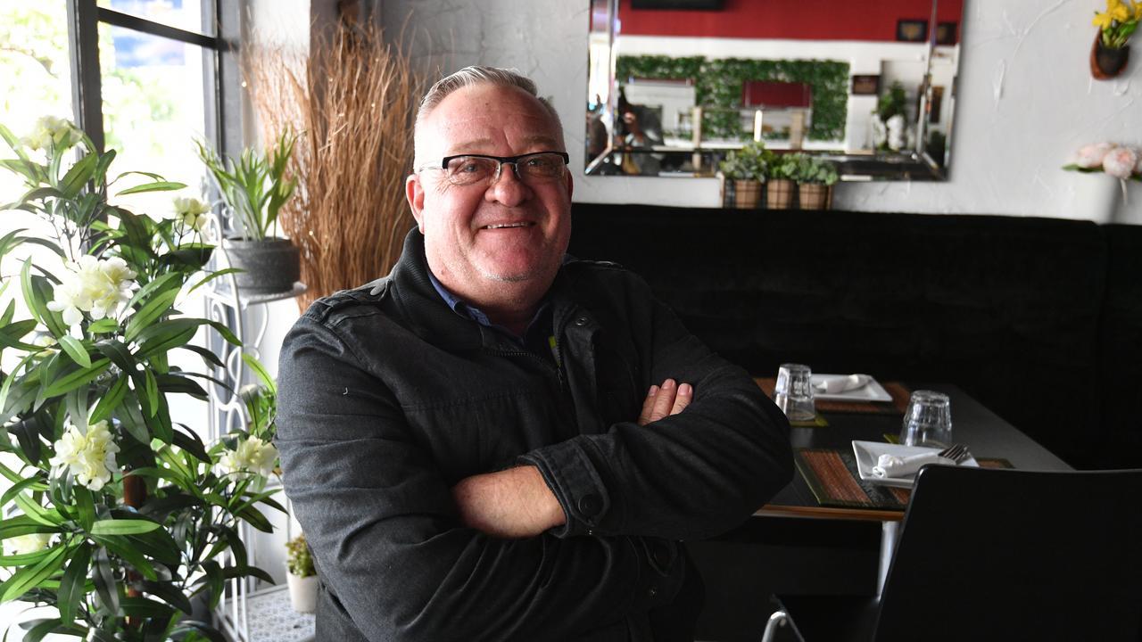 Owner of Ban Thai Bar and Restaurant in Goondoon St, Gladstone, Mark Dunnett.