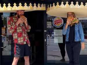 Burger chain's hilarious virus solution