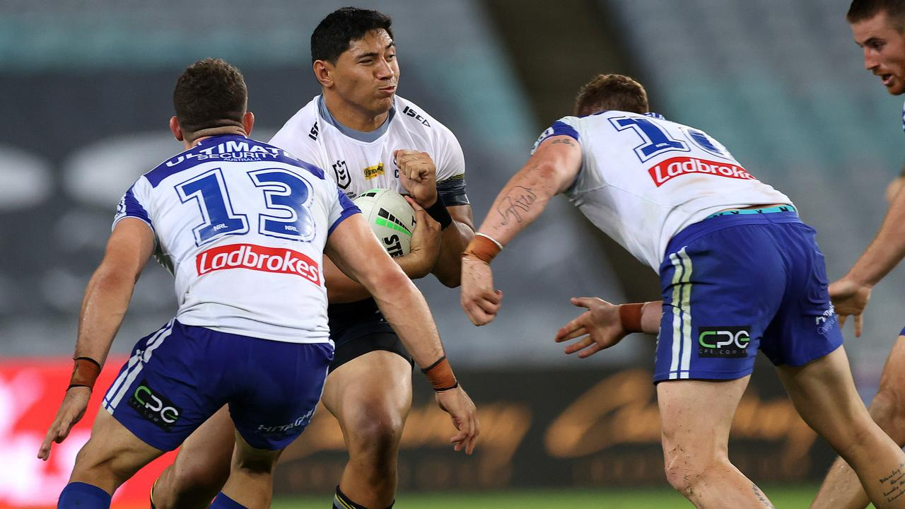 Cowboys forward Jason Taumalolo was a standout against the Bulldogs in Round 2. Picture: Phil Hillyard