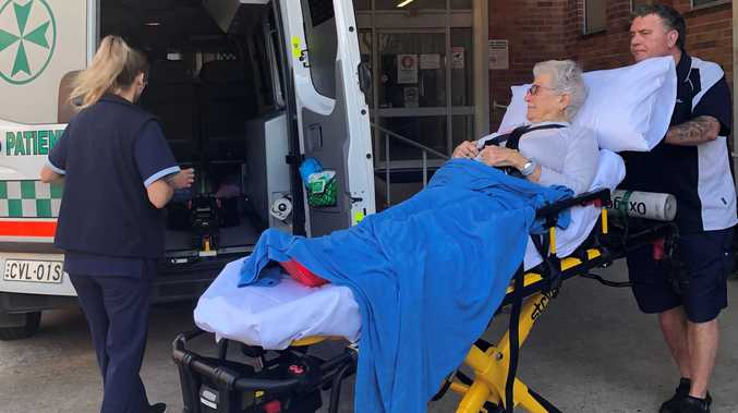 First patients treated at the region's newest hospital